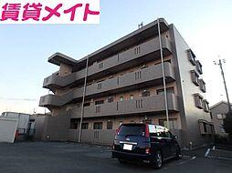 三重県多気郡明和町大字上野の賃貸マンションの外観