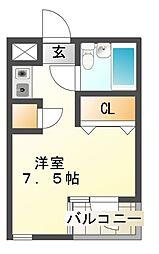 Jステージ東船橋[3階]の間取り