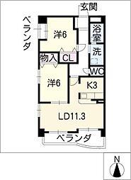 Maison de E[5階]の間取り