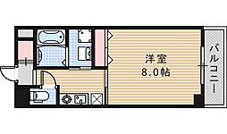 BLISS POINTあべの[203号室]の間取り