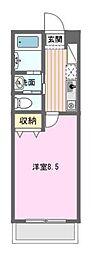 愛知県名古屋市名東区本郷3の賃貸マンションの間取り