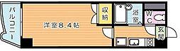 アリビオ折尾[8階]の間取り