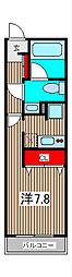リブリ・ジラソーレ[3階]の間取り