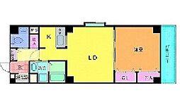 ガーディアンライフ[6階]の間取り