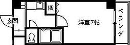 兵庫県西宮市浜脇町の賃貸マンションの間取り