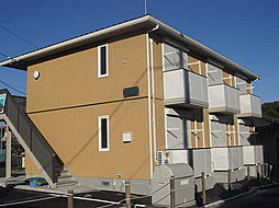 茨城県水戸市文京1丁目の賃貸アパートの外観