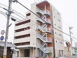 岡山県岡山市北区上中野1丁目の賃貸マンションの外観