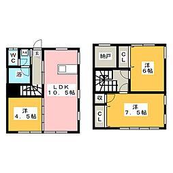 フルハウスリバティ8号棟[1階]の間取り