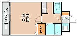 グラシャス97[5階]の間取り