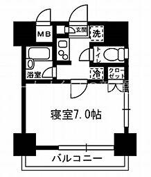 レジディア月島III[4階]の間取り