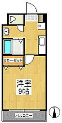 GARDEN−ONE[3階]の間取り
