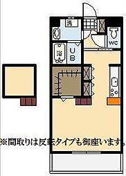 (仮称)下北方町常盤元マンション[6階]の間取り