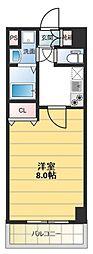 ロータリーマンション長田東[502号室号室]の間取り