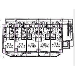 エルスタンザ大口[3階]の間取り