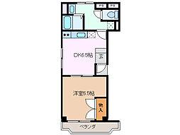 ユーミー伊倉マンション[2階]の間取り