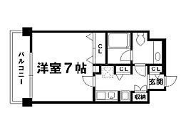 キアーラ御所[1階]の間取り