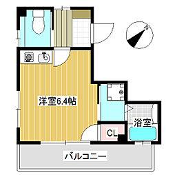 SUZUKIマンション[3階]の間取り