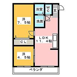 第3泰水堂ビル[7階]の間取り
