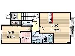 ウォーム要[2階]の間取り