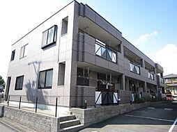 愛知県名古屋市緑区桶狭間森前の賃貸アパートの外観
