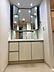 三面鏡が嬉しい洗面台です。,3LDK,面積70.91m2,価格2,280万円,つくばエクスプレス みらい平駅 徒歩1分,,茨城県つくばみらい市陽光台1丁目1-2