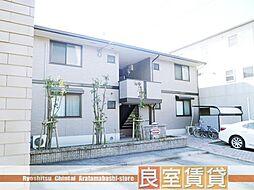 愛知県名古屋市瑞穂区白羽根町1丁目の賃貸アパートの外観