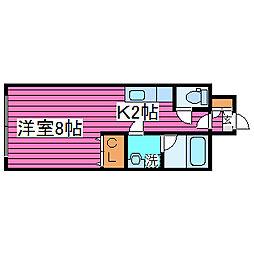 第6松屋ビル[905号室]の間取り
