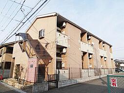 大阪府堺市北区北花田町3丁の賃貸アパートの外観