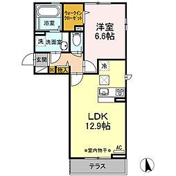(仮)D-room大谷北[3階]の間取り