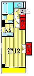 松戸トシオビル[7階]の間取り