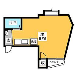 ROA BUIL ANNEX[2階]の間取り