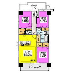 久留米駅 9.0万円