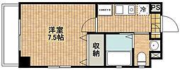 グラシアス武蔵新城[304号室]の間取り