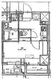 パウロニアバレーテイク8[8階]の間取り