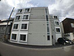 北海道札幌市白石区菊水七条2丁目の賃貸マンションの外観