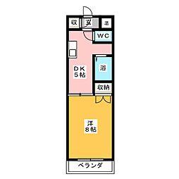 パーソナルハウス嶋[3階]の間取り