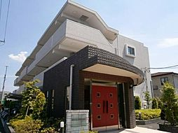 東京都調布市深大寺南町5の賃貸マンションの外観