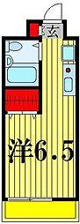 ジュネパレス松戸第41[3階]の間取り
