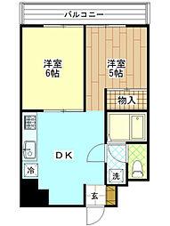 神奈川県横浜市南区宿町2丁目の賃貸マンションの間取り