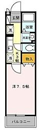 埼玉県和光市新倉1丁目の賃貸アパートの間取り