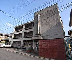 京都府京都市左京区一乗寺築田町の賃貸マンションの外観