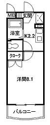 あぷと文丘[1階]の間取り