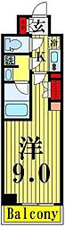 ARTECASA Alivie TOKYO EAST[416号室]の間取り