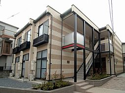 東京都板橋区若木3丁目の賃貸アパートの外観