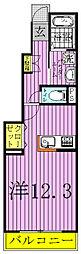 エスプワール[1階]の間取り