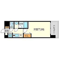 レオングラン新大阪レジデンス[2階]の間取り