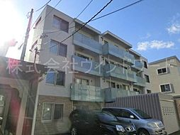 北海道札幌市中央区南二条西25丁目の賃貸マンションの外観