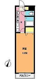 サンパティーク北上尾[2階]の間取り
