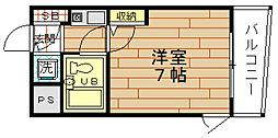I`Sシェトワ[8階]の間取り
