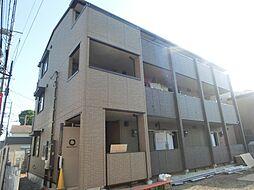 東京都府中市晴見町1丁目の賃貸アパートの外観